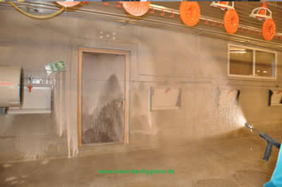 Desinfektion Stall